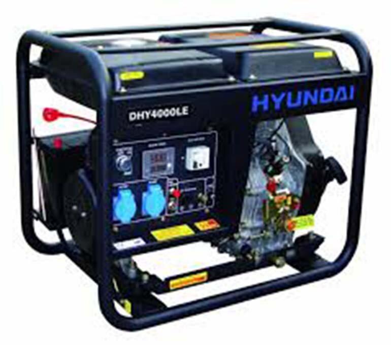 máy phát điện chạy dầu 3kw