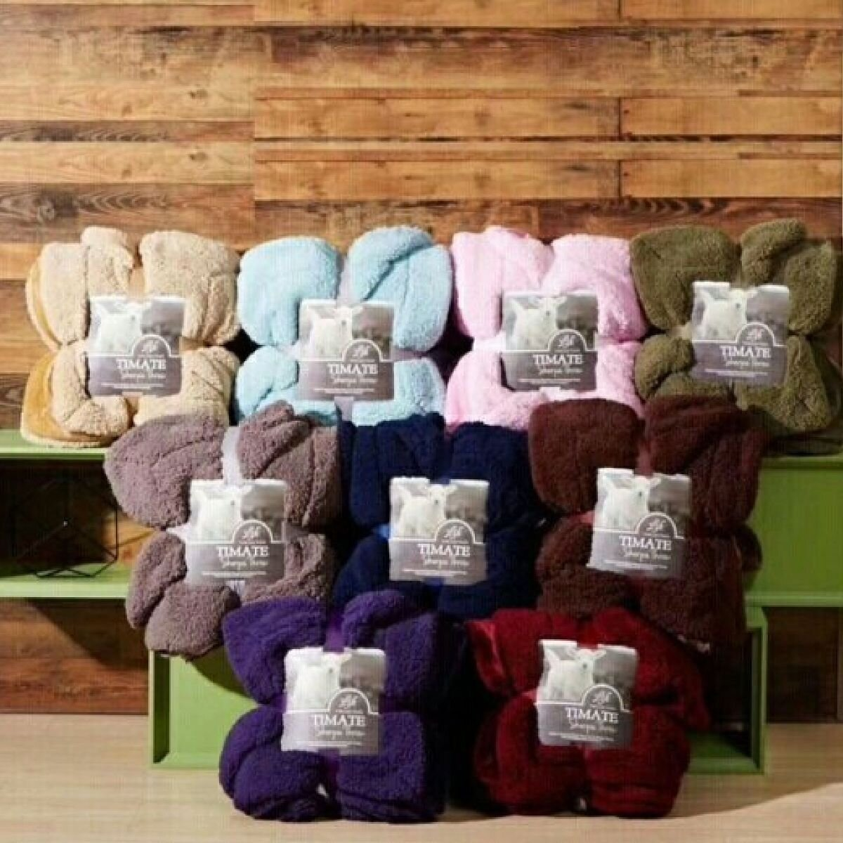 Các màu sắc khác nhau của chăn lông cừu Ultimate