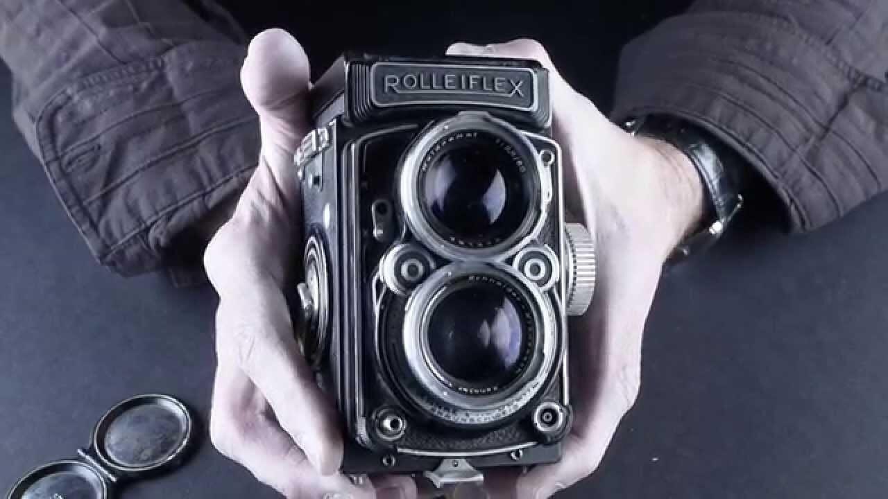Máy ảnh quay phim Rolleiflex E TLR