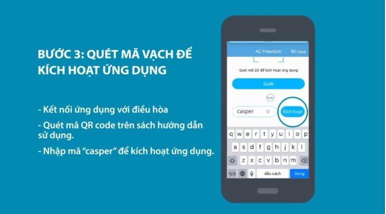 hướng dẫn bạn cách kết nốiđiều hòa Casper wifi với smartphone nhanh nhất