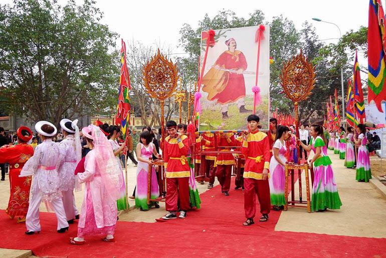 lễ hội đầu năm 2018