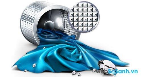 Lồng giặt hình kim cương