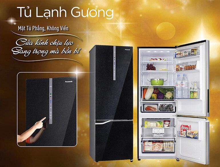 Tủ lạnh ngăn đá dưới Panasonic