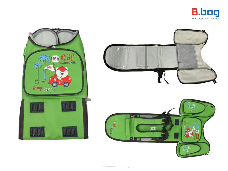 Cặp B.Bag có thể tháo ra dễ dàng để vệ sinh (