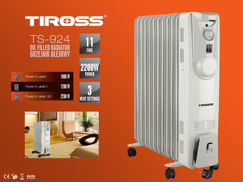 Máy sưởi dầu Tiross TS-924