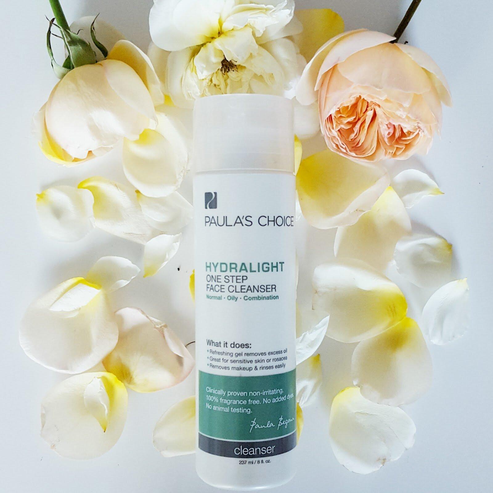 Đánh giá Paula's Choice Hydratlight One Step Face Cleanser
