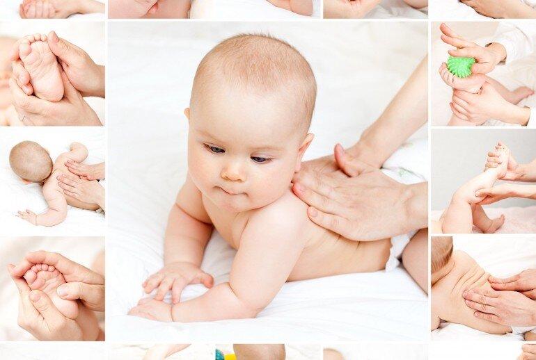 Những lưu ý cần biết trước massage cho bé dễ ngủ