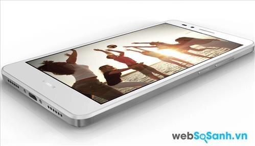 Smartphone Huawei GR5 sở hữu màn hình lớn kích thước 5,5 inch với độ phân giải Full HD 1080p