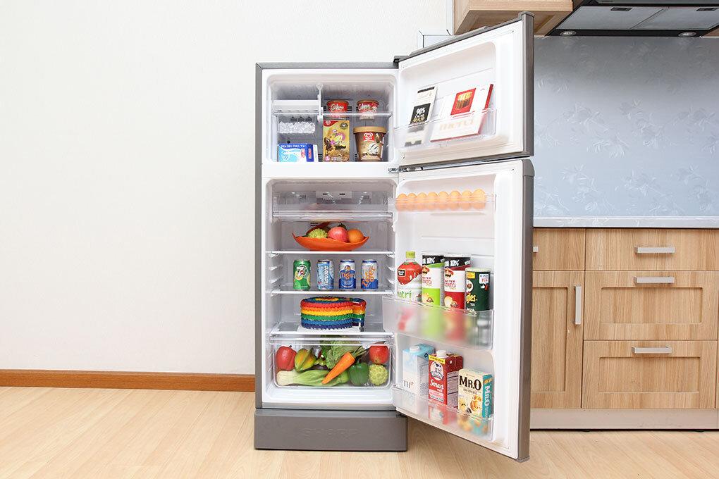 Dung tích lớn giúp lưu trữ được nhiều thực phẩm hơn