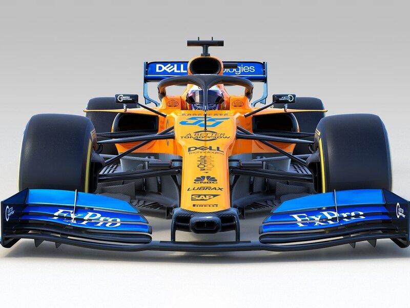 MCL34 có sự kết hợp màu độc đáo và đẹp mắt cho giải F1