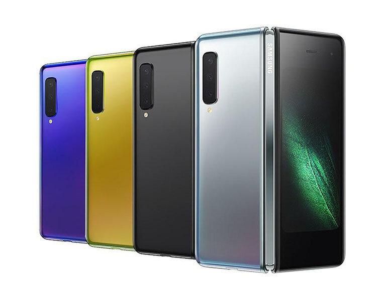 Các phiên bản màu của Samsung Galaxy Fold