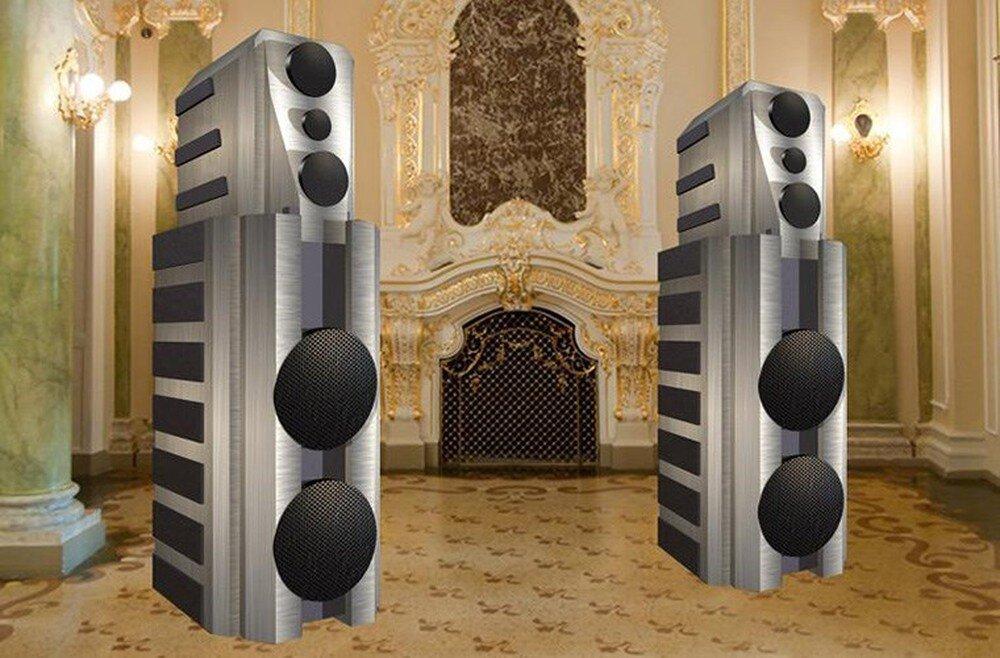 Chiếc loa Moon Audio Opulence nổi tiếng thế giới mang hình dáng vô cùng độc đáo