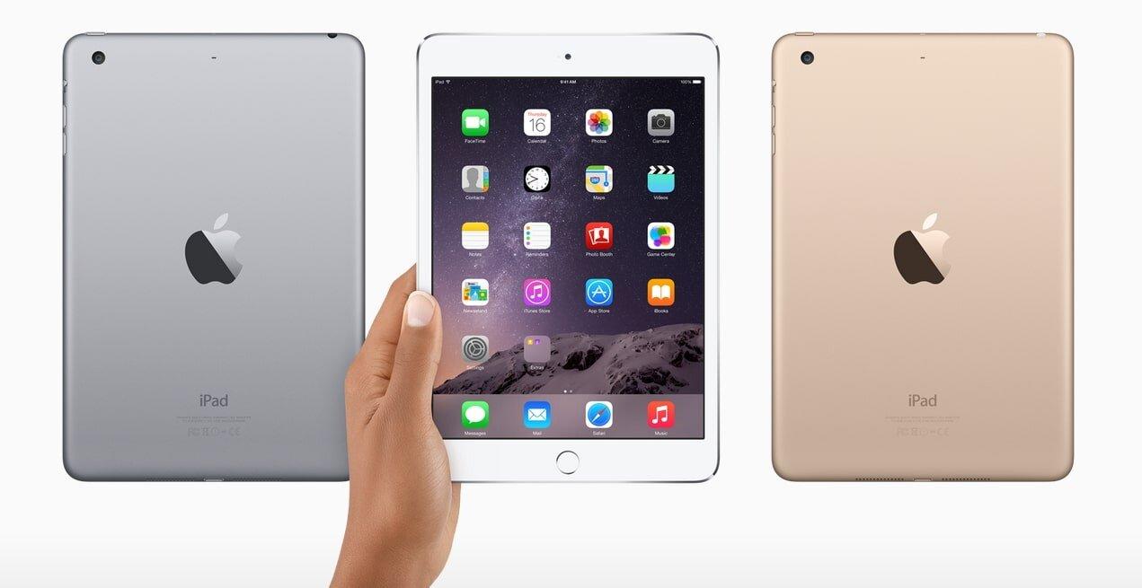 iPad mini 3 ra mắt người dùng không có sự thay đổi gì đáng kể so với thế hệ trước
