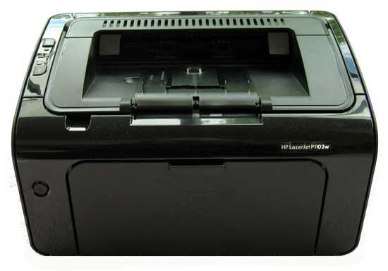 HP LaserJet Pro P1102w có thiết kết nhỏ gọn