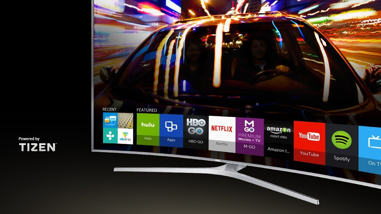 TV Samsung tinh tế từ thiết kế cho đến phần mềm bên trong