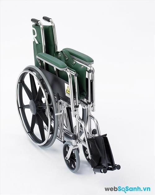Xe lăn cần có thể gập lại dễ dàng để di chuyển nhiều nơi hơn