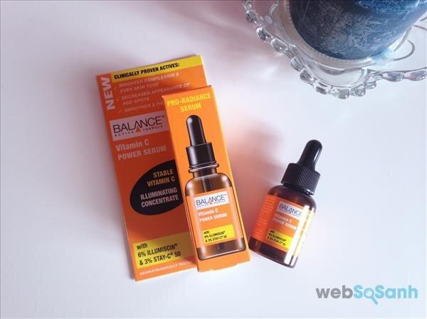 Review của người dùng về Balance Power Serum vitamin C