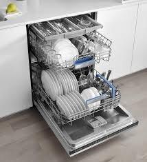 Máy rửa bát với nhiều ngăn thích hợp nhiều loại bát đĩa