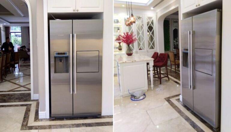Nhược điểm của tủ lạnh Bosch Side by Side