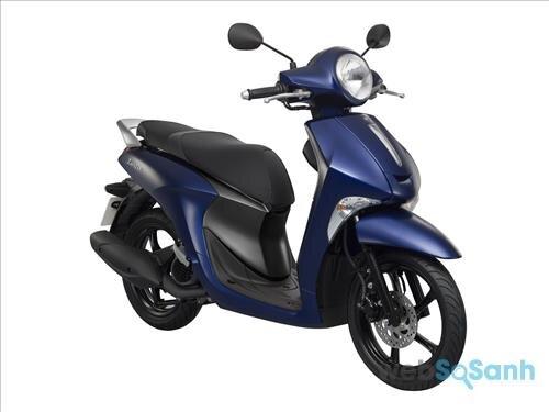 So sánh xe máy Yamaha Janus 125 và Yamaha Nozza Grande