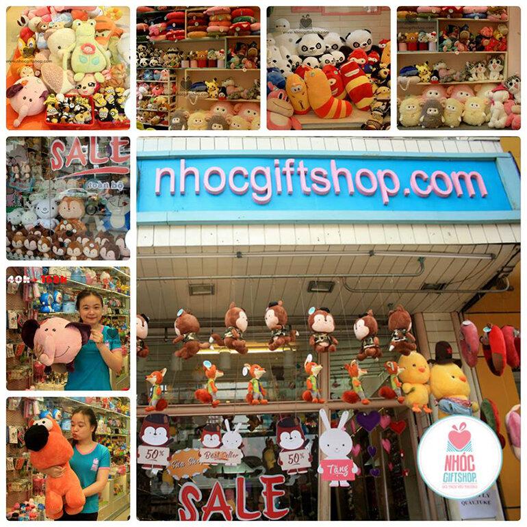 Nhóc Gift Shop chuyên cung cấp đa dạng các loại phụ kiện (Nguồn: nhanh.vn)