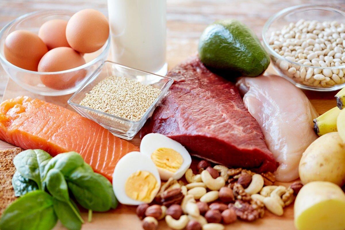 Thực đơn mẹ bầu nên có các món ăn giàu protein