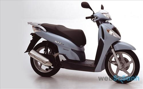Xe máy Honda SH 2005 - SH phun xăng điện tử đầu tiên