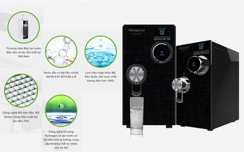 Cách sử dụng máy lọc nước Kangaroo hiệu quả an toàn