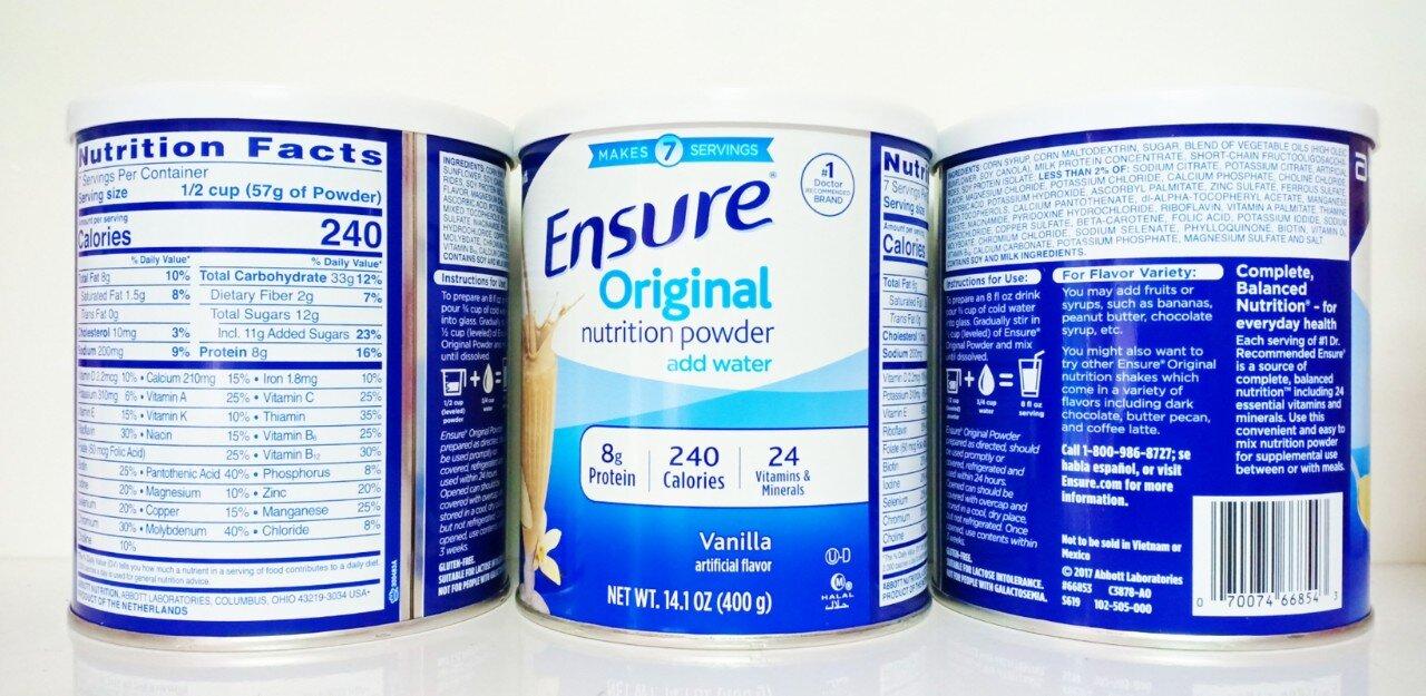 Sữa bột Ensure ® Powder
