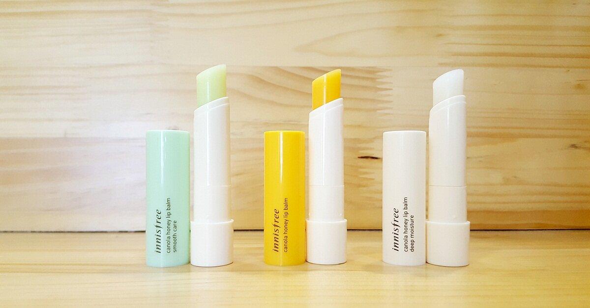 Son dưỡng trị thâm môi Innisfree Canola Honey Lip Balm có tốt không? Có mấy màu? Giá bao nhiêu?