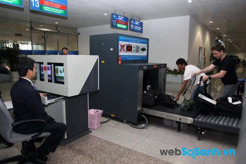 Kiểm tra an ninh là thủ tục bắt buộc tại sân bay