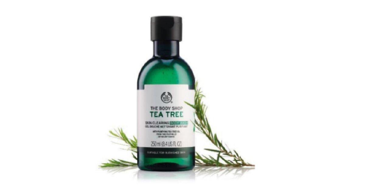 Review hiệu quả trị mụn của sữa tắm The Body Shop Tea Tree