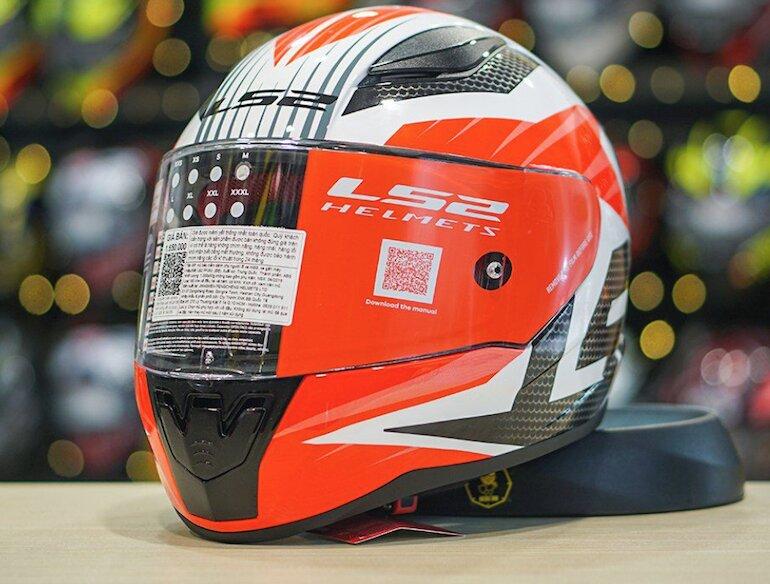 Mũ bảo hiểm fullface LS2 FF353 màu sắc thời trang, kiểu dáng trẻ trung