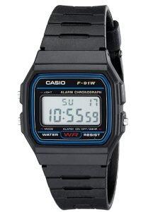 casio F91W-1 retro watch