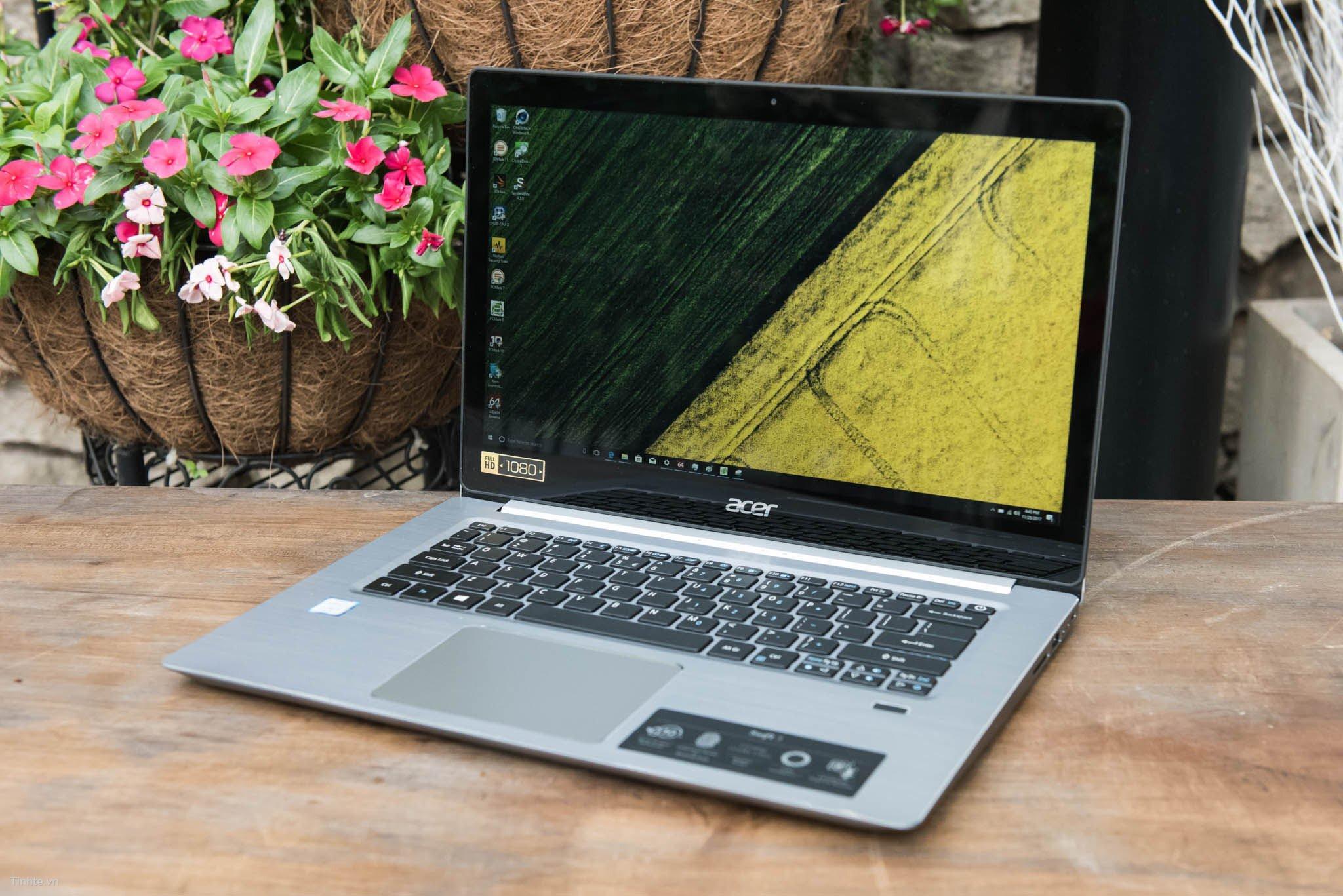 Thiết kế vỏ nhôm nguyên khối siêu nhẹ cùng chip Intel i7 giúp máy sử dụng đa tab vụ dễ dàng hơn