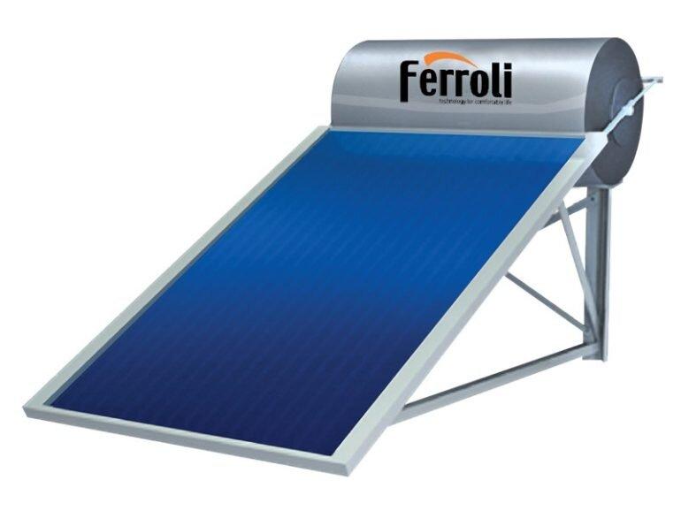Bình nóng lạnh năng lượng mặt trời Ferroli