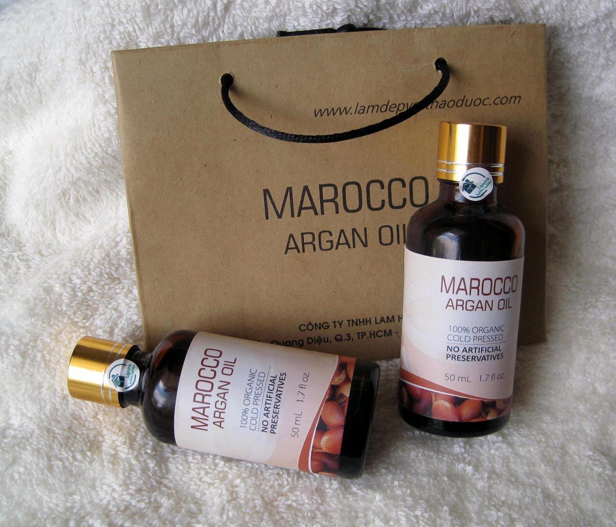 Tinh dầu Argan là lựa chọn số một của phai đẹp