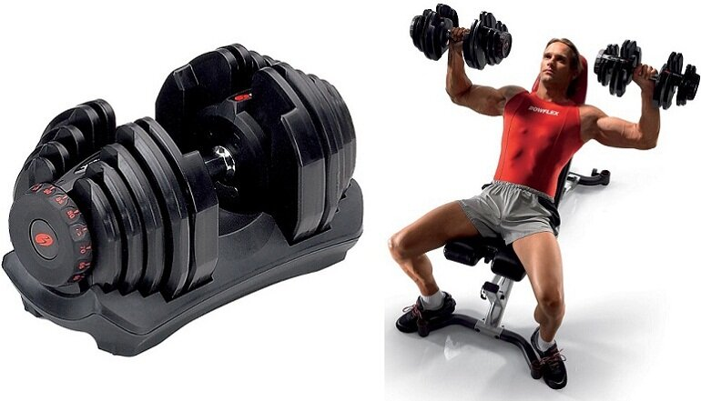 Bạn nên mua loại tạ có thể tháo lắp hoặc điều chỉnh cân nặng theo nhu cầu để dễ dàng sử dụng hơn