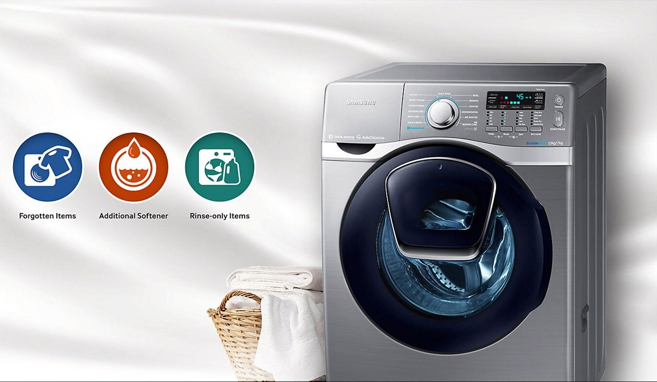 Chu trình giặt đồ đa dạng và tiện lợi