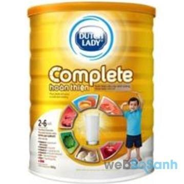 Sữa bột tăng cân cho bé Cô gái Hà Lan Dutch Lady Complete