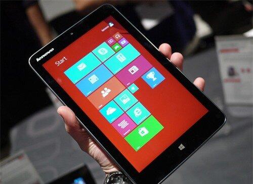 Máy tính bảng nhỏ chạy Windows Phone của Lenovo không thu hút được người dùng Mỹ. 1