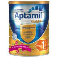 Sữa bột Aptamil Gold 1 - hộp 900g (dành cho trẻ từ 0 - 6 tháng)