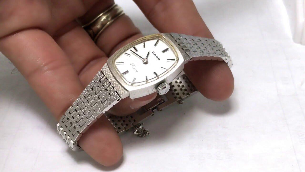 Đồng hồ nữ Rado kiểu dáng mới lạ, độc đáo