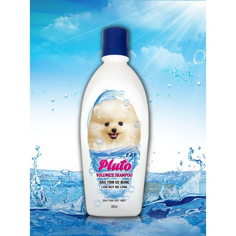 Sữa tắm cho chó lông trắng Fay Pluto Snowing
