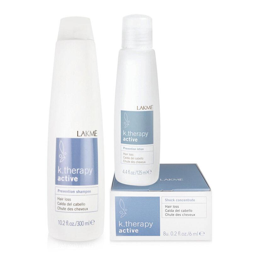 Bộ sản phẩm chống rụng tóc Lakme K.therapy Active