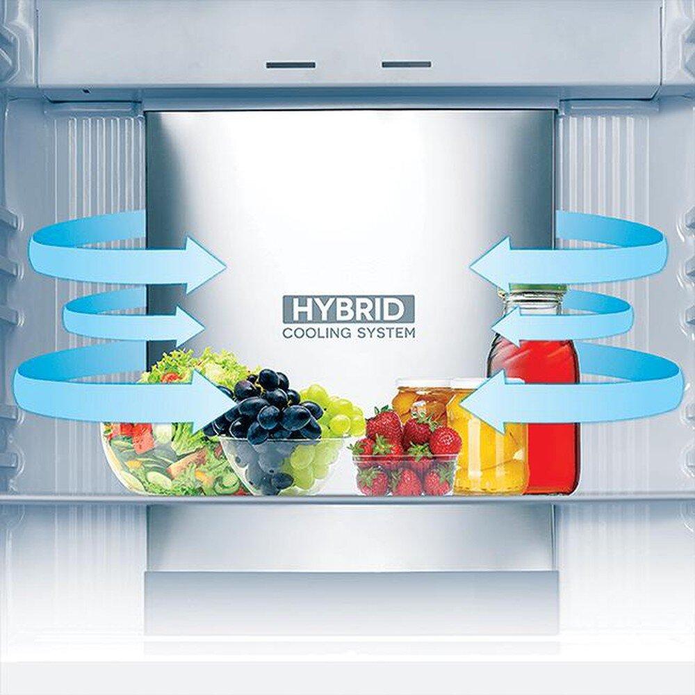 Công nghệ làm lạnh kép cho khả năng làm lạnh đều mọi góc tủ