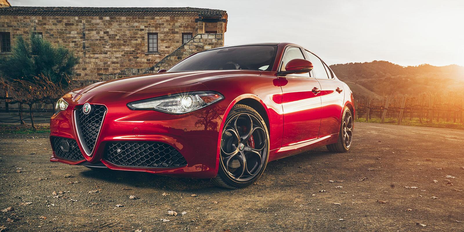 Mẫu xe Alfa Romeo Giulia