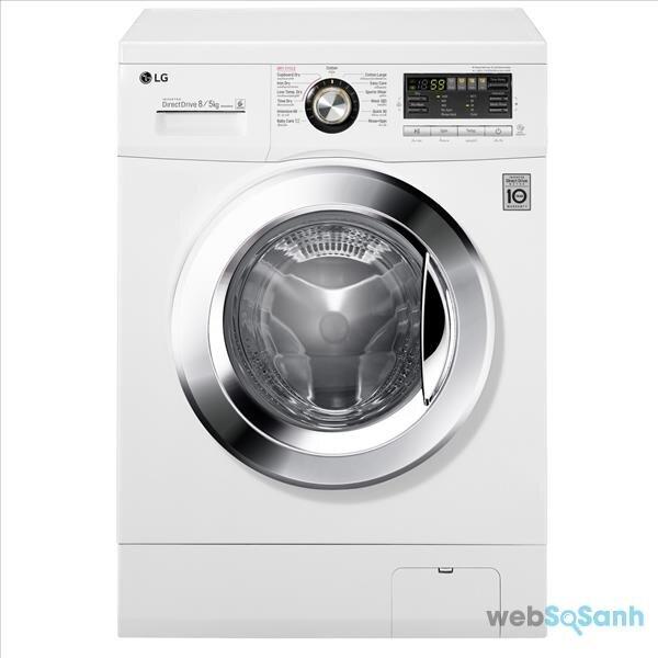 máy giặt sấy LG F1408DM2W1 giá bao nhiêu tiền