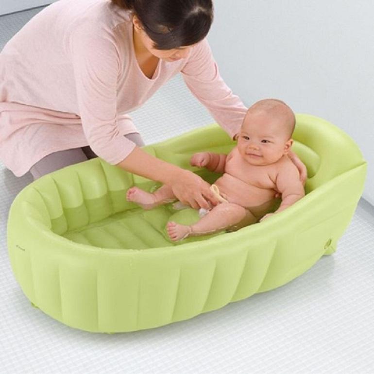 Chậu tắm cho trẻ sơ sinh phao Richell