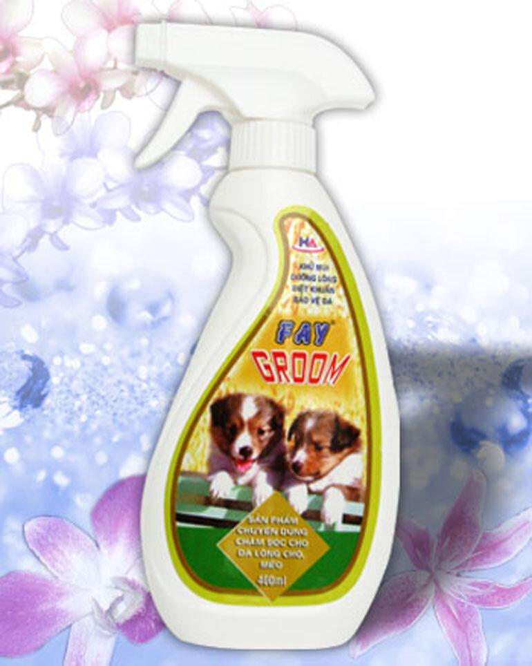 Sữa tắm cho chó mèo Fay Groom